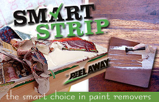 Smart Strip the smart choice in paint removers.